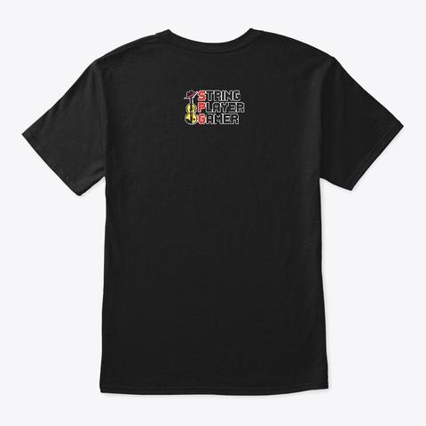 I Love Vgm! Black T-Shirt Back