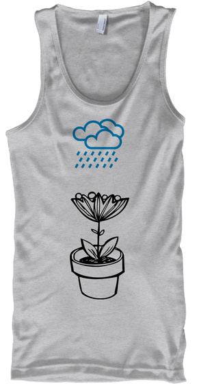 Tears Show Strength... Sport Grey T-Shirt Front