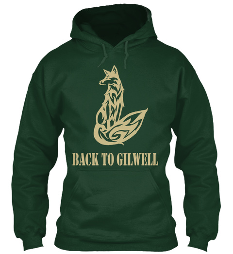 Back To Gilwell Forest Green T-Shirt Front