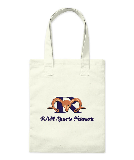 Ram Sports Network Natural T-Shirt Front