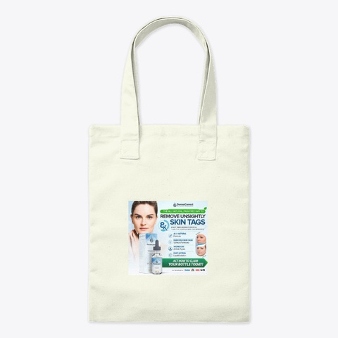How To Order Derma Correct Natural T-Shirt Front