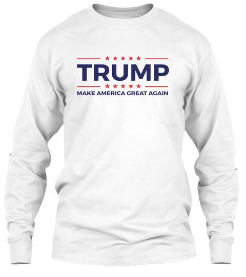 Trump Supporters Tee White T-Shirt Front