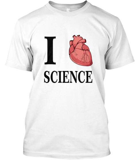 I Heart Science Love Biology Anatomy Products From I Love Heart