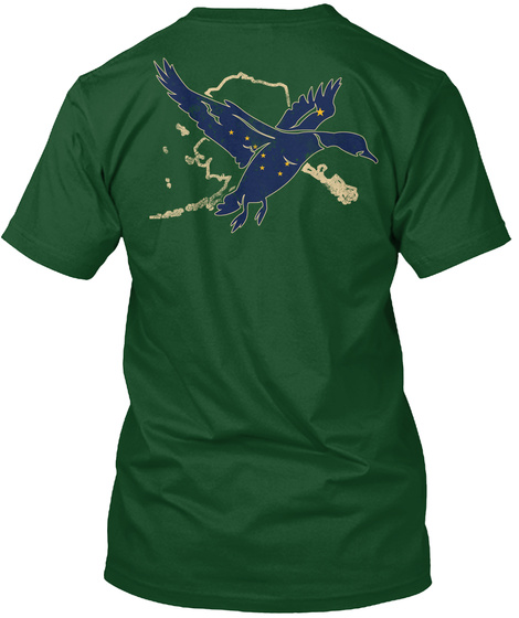 1116 Alaska Waterfowl Duck Hunting LongSleeve Tee