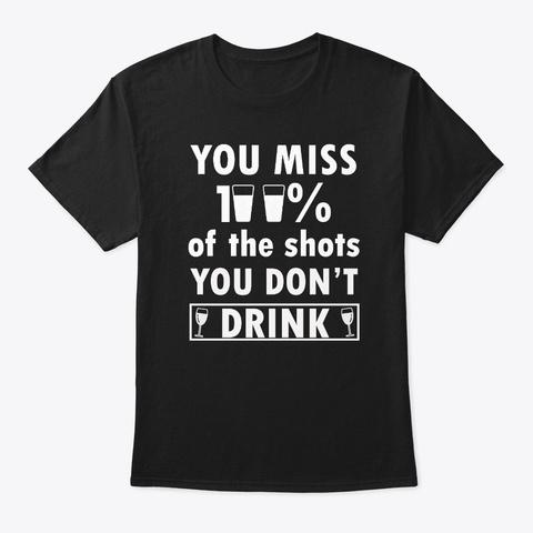 Cinco De Mayo Quote Graphic Black T-Shirt Front
