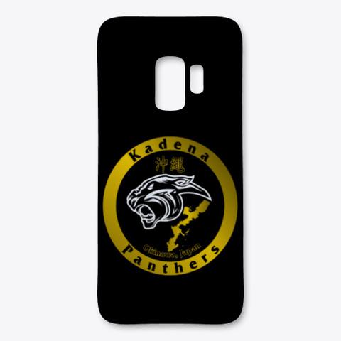 Kadena Panthers Okinawa  Black T-Shirt Front