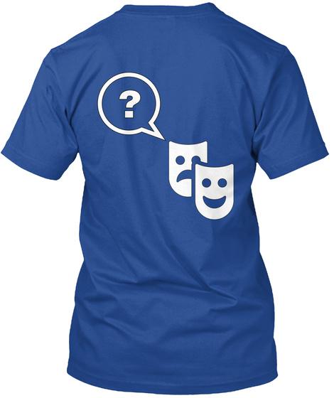 Hamlet Puzzle Shirt Deep Royal T-Shirt Back