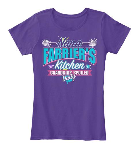 Nana Farrier's Kitchen Purple T-Shirt Front