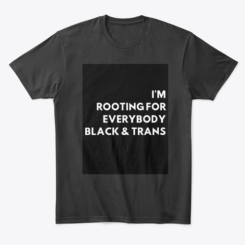 Unicorn Label Black áo T-Shirt Front