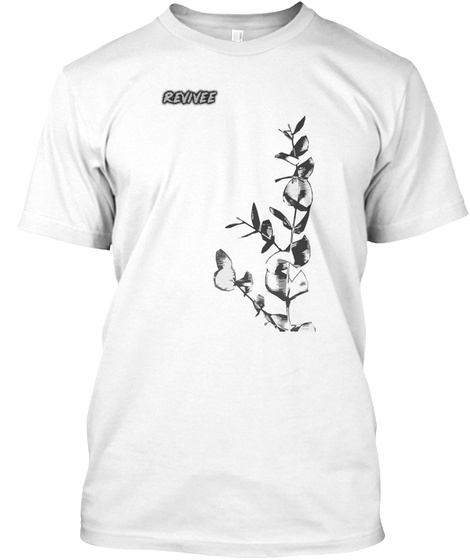 Vines   Revivee Apparel White T-Shirt Front