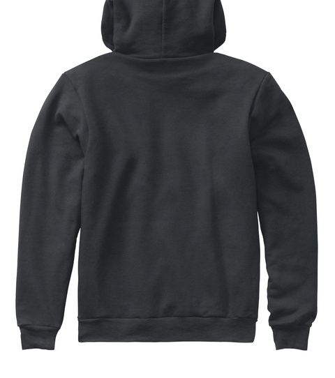 Casefile Male Light (Aa Hoodie) Dark Heather Grey Sweatshirt Back