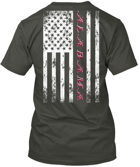Alabama Smoke Gray T-Shirt Back