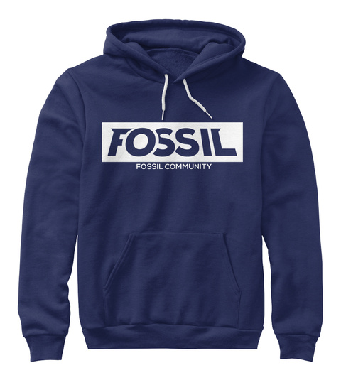 Fossil Fossil Community Navy T-Shirt Front