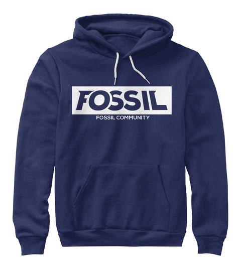 Fossil Fossil Community Navy Sweatshirt Front