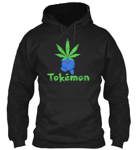 Tokemon Black T-Shirt Front