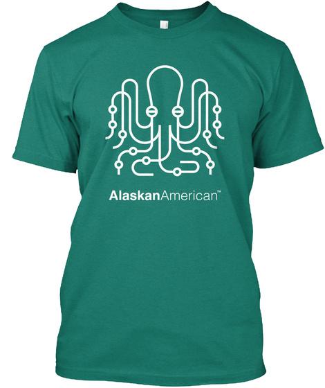 Alaskan American Evergreen T-Shirt Front
