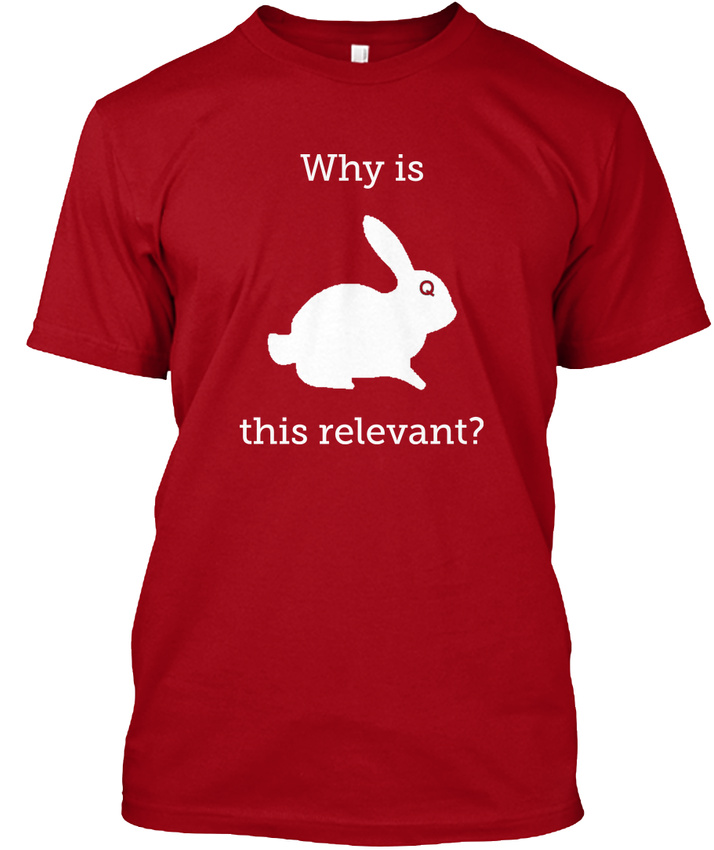 Qanon-Why-Is-This-Relevant-Relevant-Hanes-Tagless-Tee-T-Shirt thumbnail 7