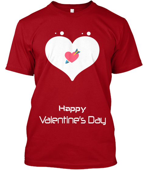Valentine T For Man 2018 Happy Valentine S Day Products Teespring