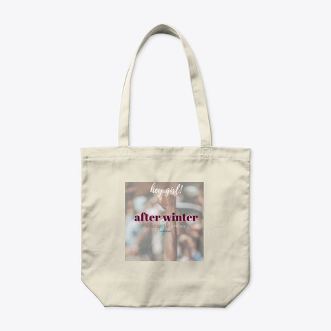 Front of You Got This Organic Tote Bag