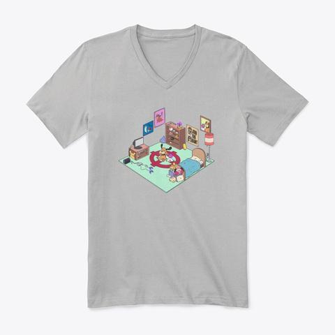 Coasting Athletic Heather T-Shirt Front