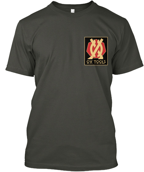 Ox Tools  Smoke Gray T-Shirt Front