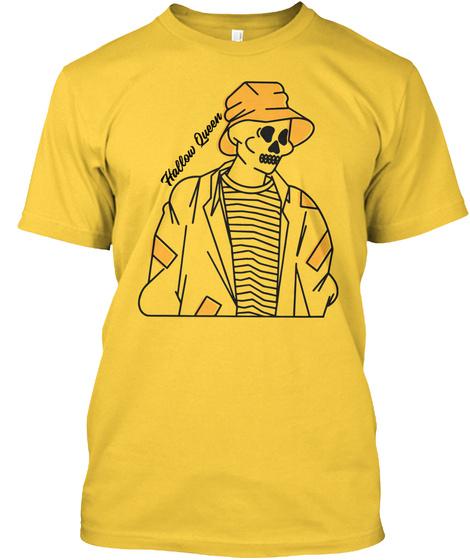 Halloween, Hallow Queen  Yellow T-Shirt Front
