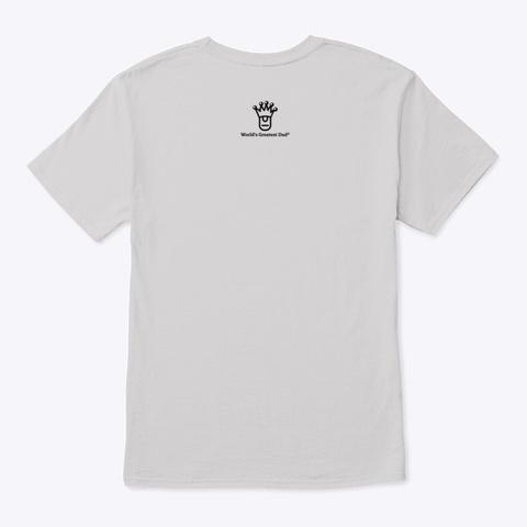 Wgd Area Code's Greatest Dad   Style 1 Light Steel T-Shirt Back