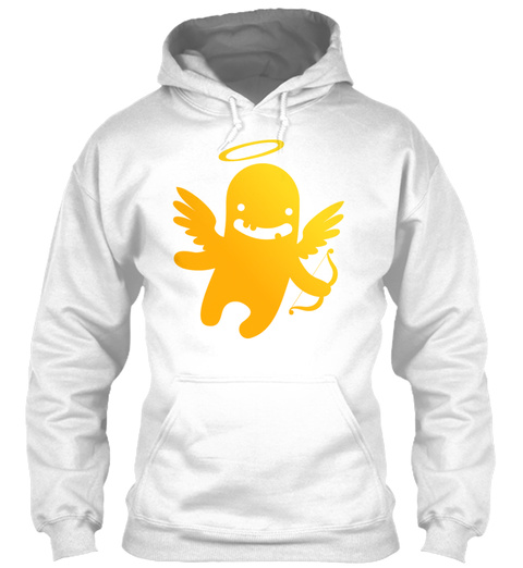 Paranormal Cupid White T-Shirt Front