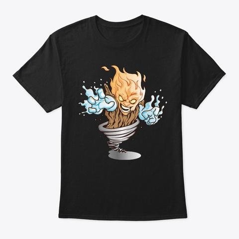 Elemental Shirt Black T-Shirt Front