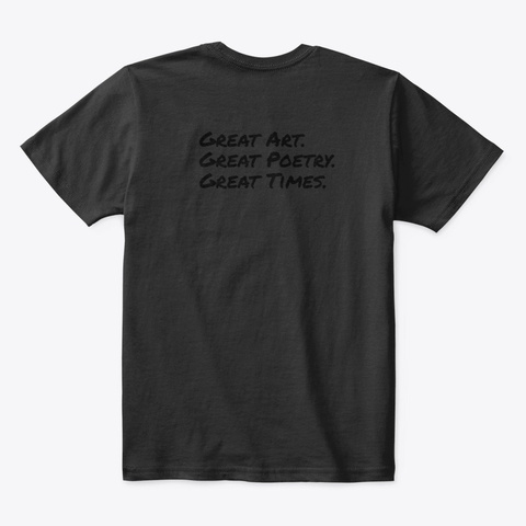 Emperor Black T-Shirt Back
