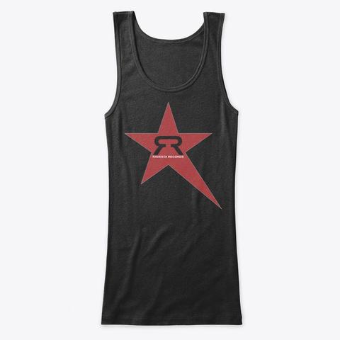 Ravesta Records Star Breaks Black T-Shirt Front
