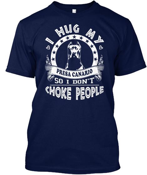 Presa Canario Navy T-Shirt Front