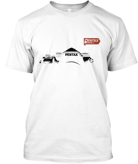 Pentax White T-Shirt Front