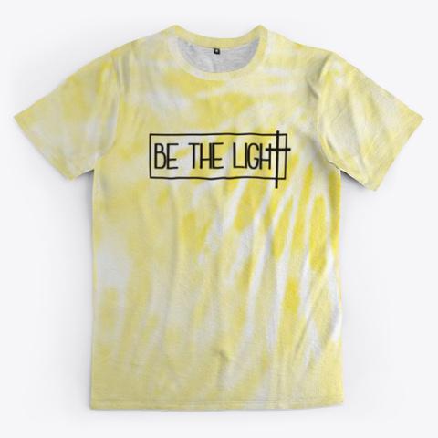 be the light tie dye shirt