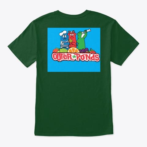 Outer Ponds Deep Forest T-Shirt Back