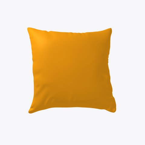 Fall Wolf Pillow Orange T-Shirt Back