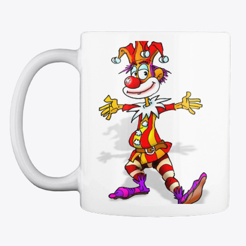 For The Jokers In The Morning! White Mug Front