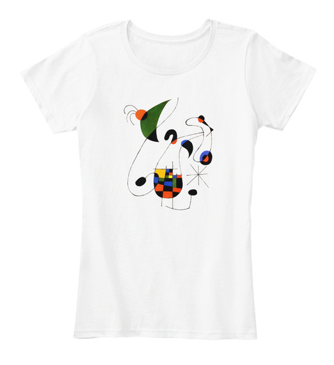 Modernism White T-Shirt Front