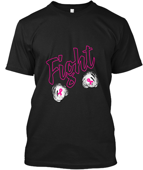 Fight T Shirt Black T-Shirt Front