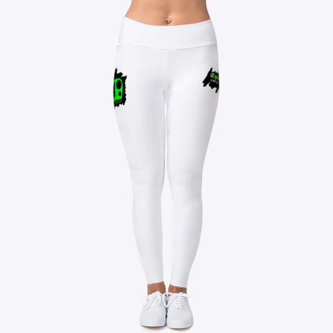 Spiel'z Girlz White Leggings Standard T-Shirt Front