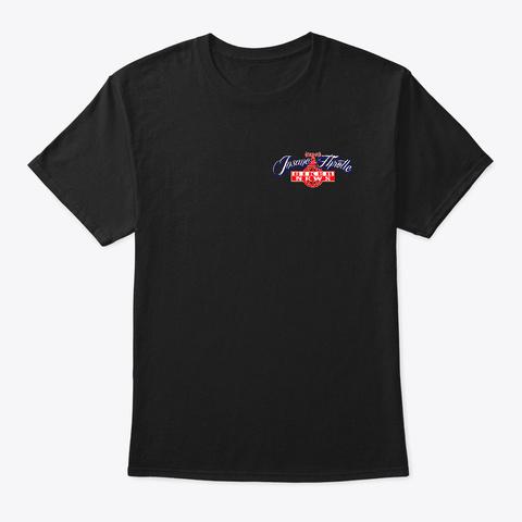 Insane Throttle Back Off Series Black T-Shirt Front