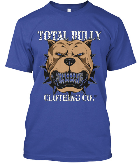 Total Bully Clothing Co. Deep Royal T-Shirt Front