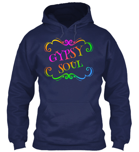 Gypsy Soul Navy T-Shirt Front