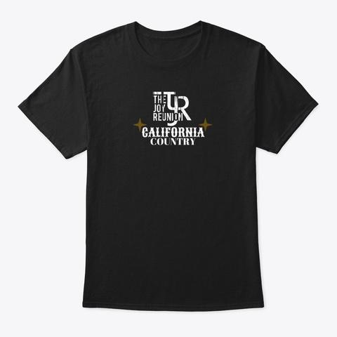 "Tjr ""California Country"" T Shirt Black T-Shirt Front"