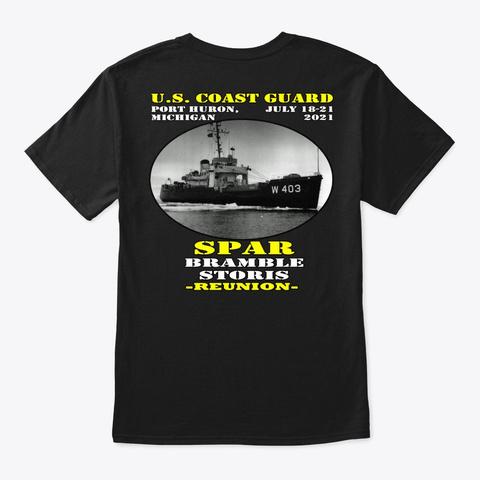 Spar (Wagl 403) T Shirt Black T-Shirt Back