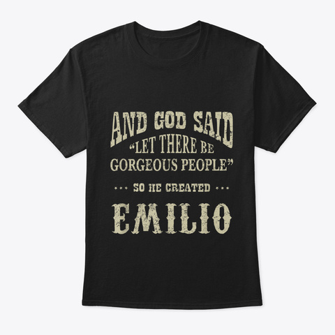 Personalized Birthday Gift For Person Na Black T-Shirt Front