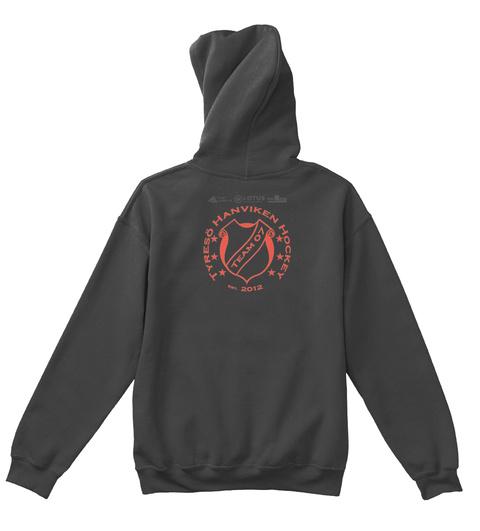 Tyreso Hanviken Hockey Est 2012 Lotus Jet Black T-Shirt Back