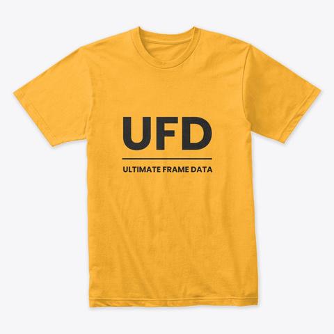 Ultimate Frame Data T Shirt Gold T-Shirt Front