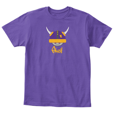 Skol! Purple  T-Shirt Front