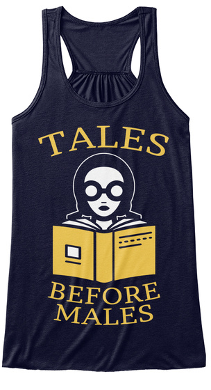 Tales Before Males Midnight T-Shirt Front
